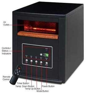 1500 Watt Infrared Heater - 1500Sq Lifesmart LS-4P1500-HOM Renew
