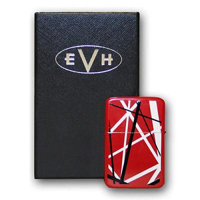EDWARD EDDIE VAN HALEN Red Stripes Flip Top Lighter Windproof New Authentic