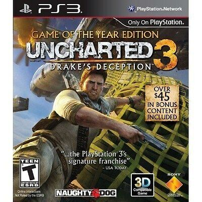 Used, Uncharted 3: Drake's Deception - Game of the Year Edition [PlayStation 3 PS3] for sale  Shipping to Nigeria