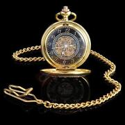 Antique Skeleton Pocket Watch