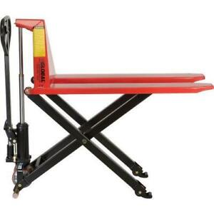 Scissor Lift Truck - 2200Lbs Weight Cap - Brand New - Only $749!