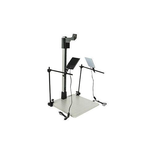 """Smith Victor Pro 42"""" Copy Stand Kit w/ LED Light Kit"""