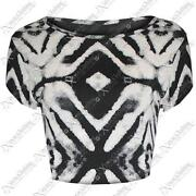 New Look Black and White Top