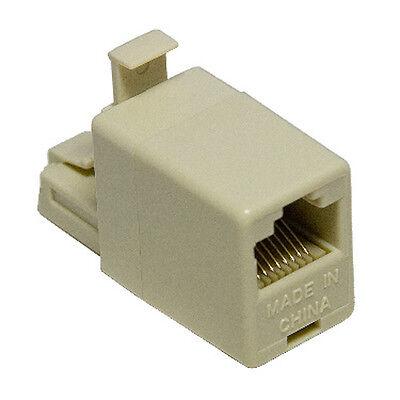 RJ45 CAT5 LAN Crossover Exthernet Network Adaptor Converter