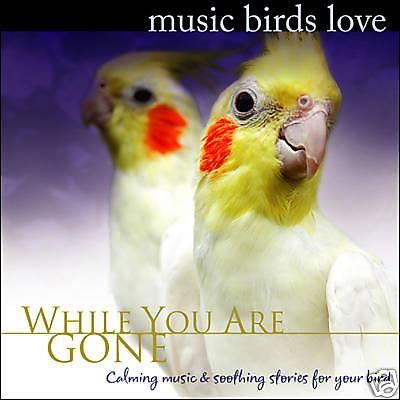 MUSIC BIRDS LOVE CD, Cockatiel, Parrot, Music for Birds, Bird Music NEW UNOPENED