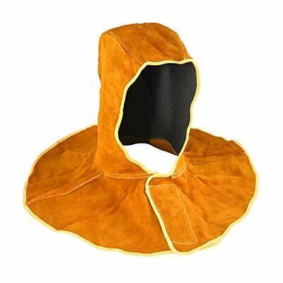 Qwork Leather Welding Hood Welder Cover Cap For Welding Blacksmithing