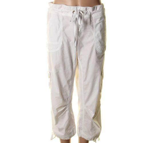 Brilliant White Cargo Pants For Women