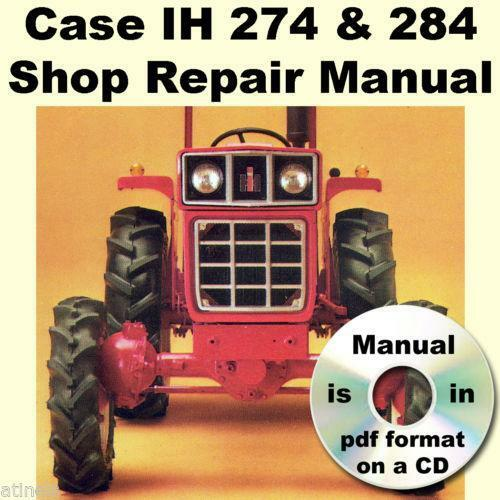 Case IH Manuals – Ih 284 Wiring Diagram
