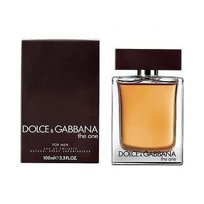 The One By Dolce   Gabbana 3 3   3 4 Oz Edt Spray Nib Sealed Cologne For Men