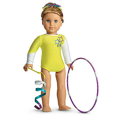 NEW American Girl McKenna's Rhythmic Gymnastics Performance Outfit Set:  Leotard
