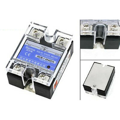 24-480v Ac Dc To 3-32vdc Output Single Phase Ssr Solid State Relay 40a Szhkus