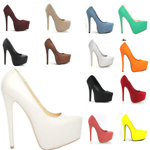 WOMENS-CONCEALED-PLATFORM-LADIES-STILETTO-HIGH-HEELS-COURT-SHOES-AU-SIZE-3-5-8-5