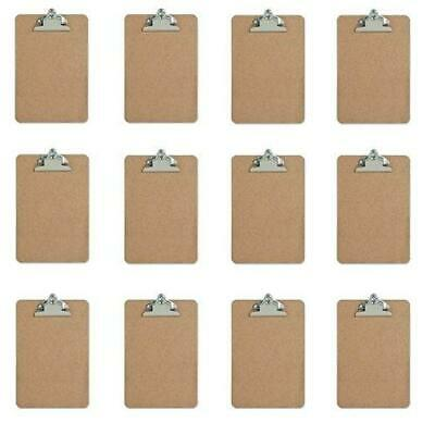 Mini Clipboard - Hardboard - 6 X 9 - 12 Pack