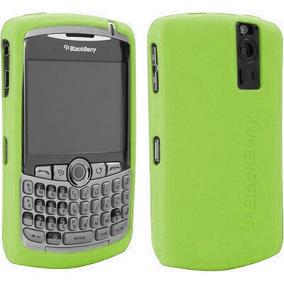 NEW Original Lime Green Gel Silicon Skin Case for Blackberry CURVE 8300 8330 8330 Gel