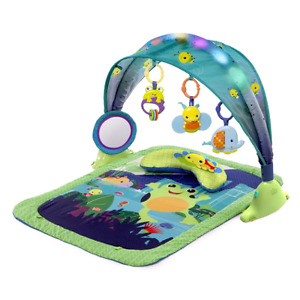 Bright starts light up lagoon play mat