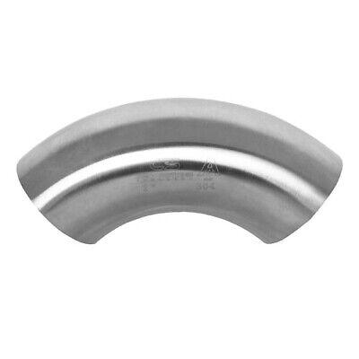 90 Degree Sanitary Stainless Steel Short Bend Weld Fitting 2 304