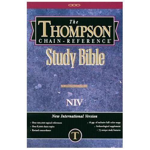 Bible Study Reference: Thompson Chain Reference Bible NIV