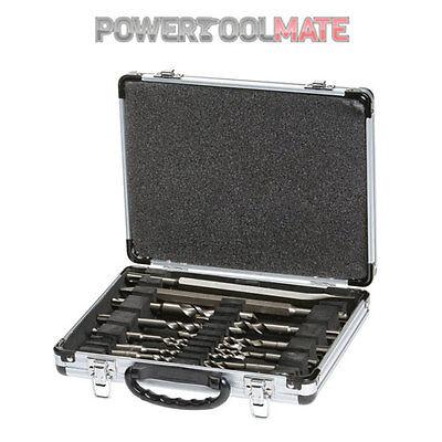 Makita D-21200 17 Piece SDS Plus Drill Bit Set + Chisel Set + Metal Case