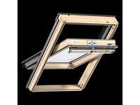 Velux window skylight Pine Centre-Pivot Windows 78 x 98cm, GGL 3059 M04, very good condition.