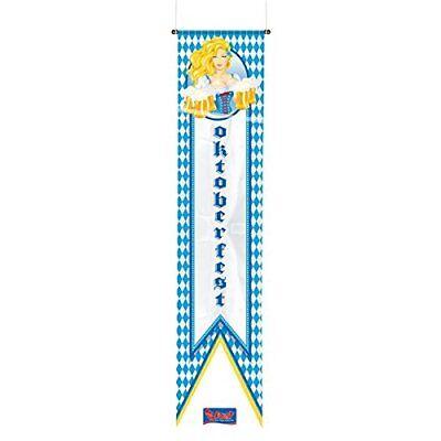 Wimpel Banner Oktoberfest Wiesenmadl 180 x 40 cm Raum Innen- Außen Dekoration