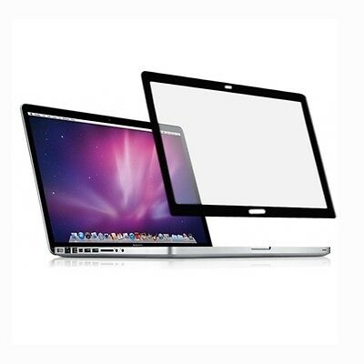 Anti-glare Bubble Free LCD Screen protector Black Frame for Macbook pro 13 A1278