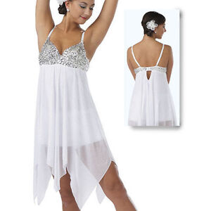 Sequin Lyrical Dance Costume