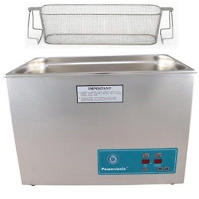 Crest Ultrasonic Cleaner-heat Timer-perforated Basket