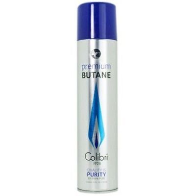 Colibri Premium Lighter Butane Refill Fuel 180g/10 oz Can 99