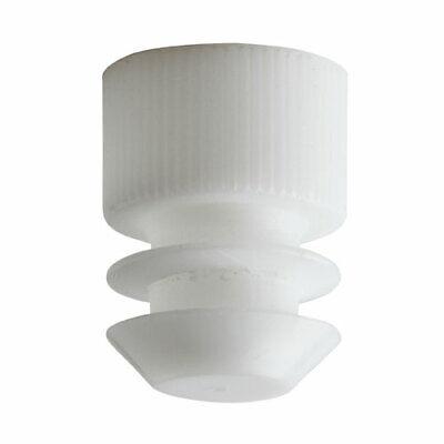 Test Tube Cap Flange Type 13mm White Case 20000