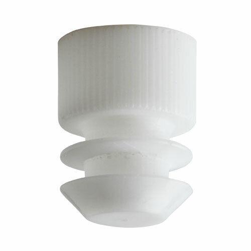 Test Tube Cap, Flange Type, 13mm, White (Case 20000)