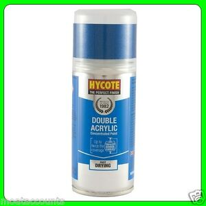 Hycote Ford Light Sapphire Blue (Met) Acrylic Spray Paint 150ml [XDFD248] T