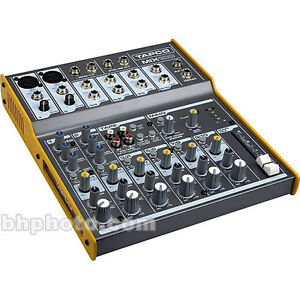 Mackie/Tapco Mixer 10 Channel