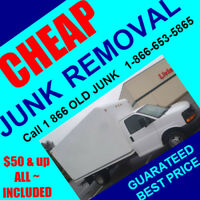 We can help: cheap junk removal