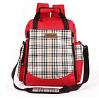 Canvas Red Large Diaper Bags