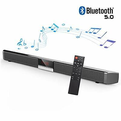 Soundbar for TV - Bluetooth Sound Bar, Channel Home Theater with Subwoofer,