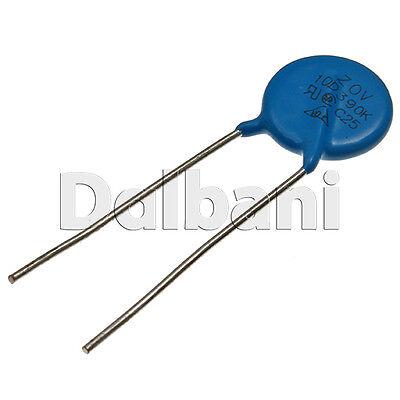25pcs lot Littelfuse V120ZA6P Metal oxide varistor MOV 75Vrms 102VDC 4.5kA