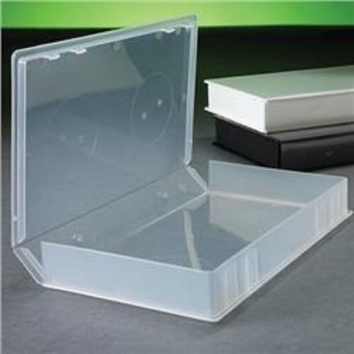 100 NEW CLEAR VHS VIDEO LIBARY CASE W/FULL SLEEVE PSV14