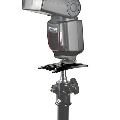 [Lot de 2] Support de flash standard pour Flash Canon Nikon Yongnuo Godox