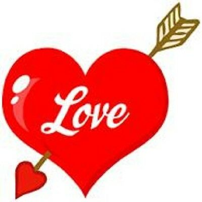 30 Custom Love Heart Personalized Address Labels
