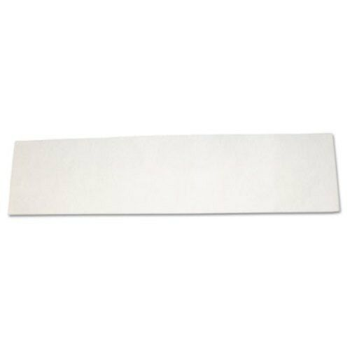 Diversey 93345274 PACE 60 White Disposable Floor Pads, 18x5 (250)