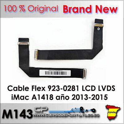 Cable Flex 923-0281 LCD LVDS para iMac A1418 Años 2013 - 2015...