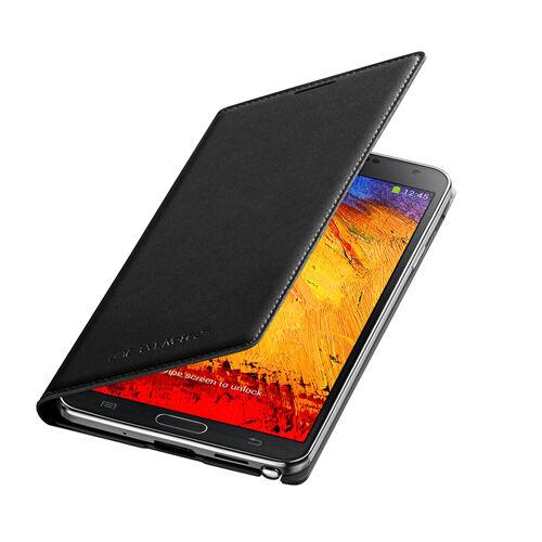 GENUINE Samsung Galaxy NOTE 3 BLACK Flip Case EF-WN900BBEG BOXED 1st Class POST
