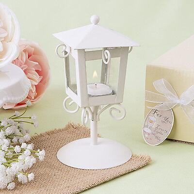 1 Vintage Candle Street Lamp Tea Light Wedding Favor Beach Theme Party Love Gift