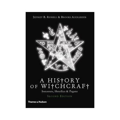 A New History of Witchcraft by Jeffrey Burton Russell (author), Brooks Alexan...