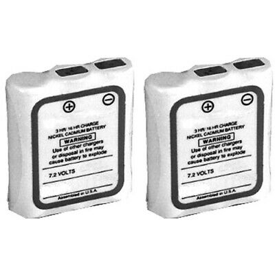 2x Replacement Battery For Motorola Hnn9044ar Fit Sp10 Sp21 Sp50 Spirit M Series