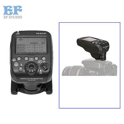 Yongnuo YN-E3-RT Flash Speedlite Transmitter for Canon 600EX-RT II as ST-E3-RT