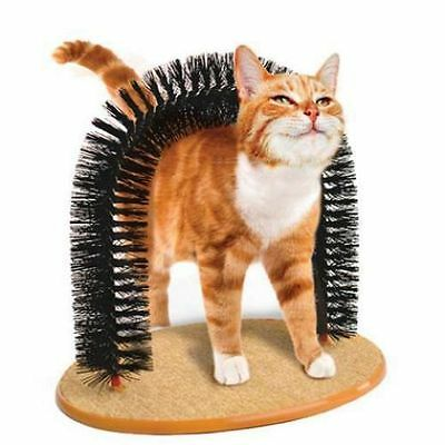 Kitty Cat Scratcher Pet Furniture arch  Post  Toy Scratching Perch Catnip Kitten