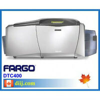 FARGO DTC 400 Plastic Card Color Printer / Encoder