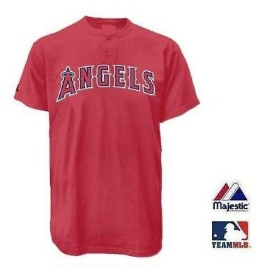 LOS ANGELES ANGELS 2 BUTTON REPLICA JERSEY 2 Button T-shirt