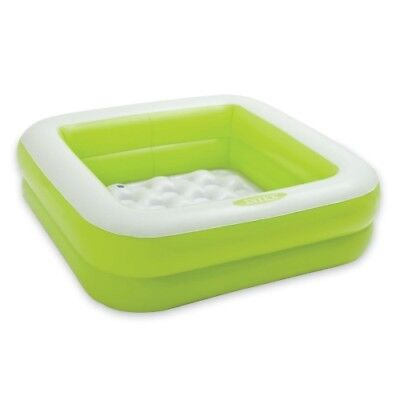 Intex Inflatable 15 Gallon Kids Baby Box Pool Green *FAST FREE SHIPPING* NEW!